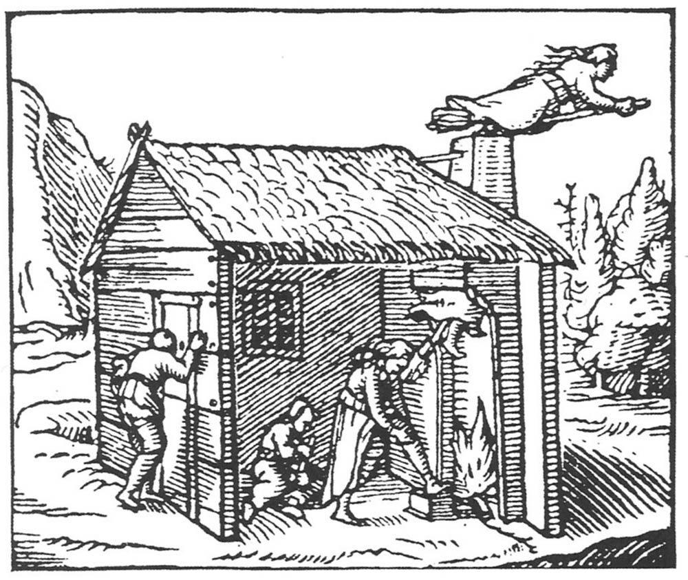 Hexenflug Hexensalbe