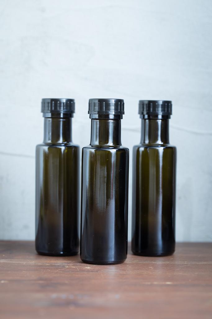 Braunglasflasche Dorica 100 ml breite Öffnung kaufen