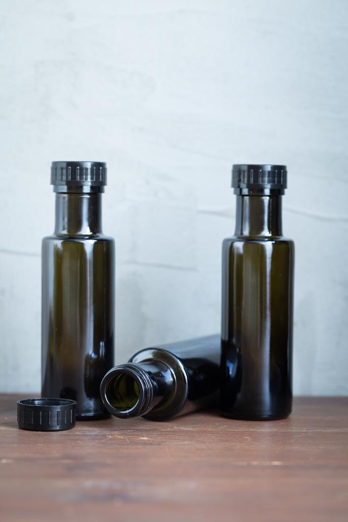 Braunglasflasche Dorica 100 ml offen kaufen